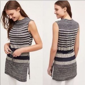 Dolan Left Coast (Anthro) Drawstring Stripe Tunic